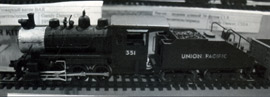 Паровоз маневровый тип 0-6-0 (0-3-0) Switcher железной дороги Union Pasific. A&K tt-model, ФРГ. 2009-2011 гг.