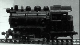 Паровоз маневровый тип 0-4-0 (0-2-0) Dockside tank switcher Kemtron, США. 1961-1968 гг.